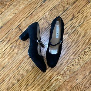 Vintage Anne Klein Suede/Velvet Heels